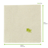Kraft Tissue Napkin - L:11.25 x W:11.6in