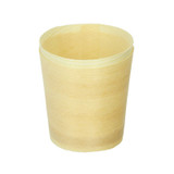Mini Wooden Cup -2oz Dia:1.75in H:2.05in