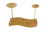 """""""Thani"""" Bamboo Mini Dish w/ Skewer - 1.5in. x 3.9in."""