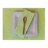 Green Paper Place Mat - L:15.7 x W:11.75in