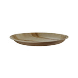 Palm Leaf Round Dinner Plate - Dia:11.7in H:1in