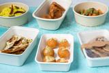 Compostable Round Bamboo Fiber Buckaty Salad Box -34oz Dia:5.85in H:3.05in