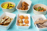 Compostable Round Bamboo Fiber Buckaty Salad Box -44oz Dia:7.25in H:2.7in