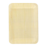 Scandinavia Rectangular Wooden Tray - L:10.5 x W:8.5 x H:.7in