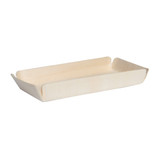 Canada Paper Lined Wooden Tray - L:9 x W:4.5 x H:1in