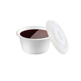 White Sugarcane Souffle Portion Cup -2oz Dia:2.4in H:1.18in