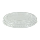 Clear Pet Flat Lid For 210POC60N And 210POB61 - Dia:2.5in H:.3in