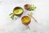 Bamboo Leaf Tasting Spoon - L:5.1in