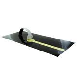 Black Self-Adhering Paper Wrapper - L:16.4 x W:7.1in