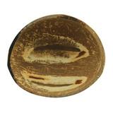 Round coconut bowl without polished - 6.8-8.5oz