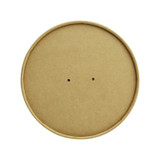 Vented Paper Lid For 210Pc Range - Dia:7.3in