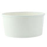 Buckaty Round White To Go Container -30oz Dia:5.75in H:2.95in