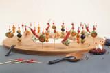 Tung Bamboo Mini Spoon - L:3.6 x W:.38in
