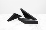 Sima Black Bamboo Pick Holder 3 Pieces - L:5.5 x W:1.5 x H:0.8in