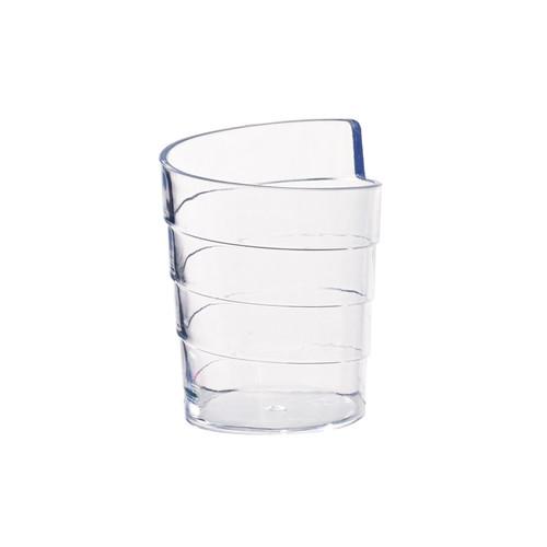 Ruban Spiral Design Mini Cup -1.25oz Dia:1.65in H:2.2in