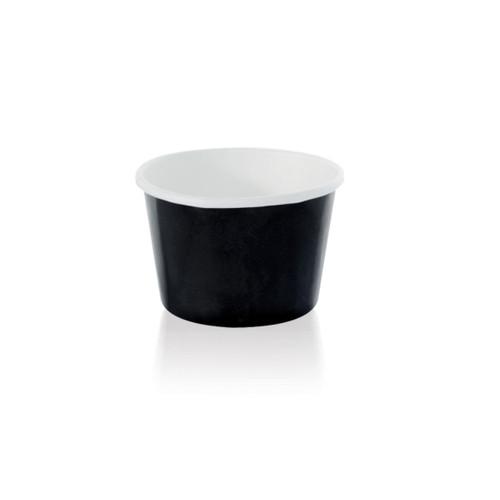 Black Paper Cup -3oz Dia:2.9in H:1.5in