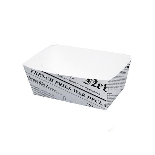 Sturdy Newspaper Printed Basket -8.5oz L:3.58 x W:2.2 x H:1.55in
