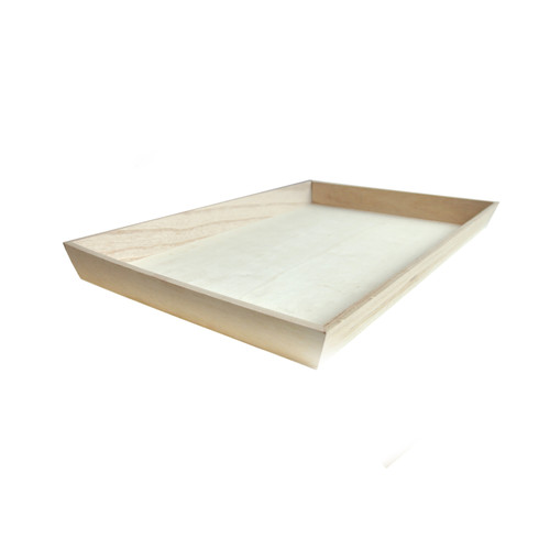 NOAH45 Heavy Duty Wooden Tray - L:18.3 x W:12.6in x H:1.55in