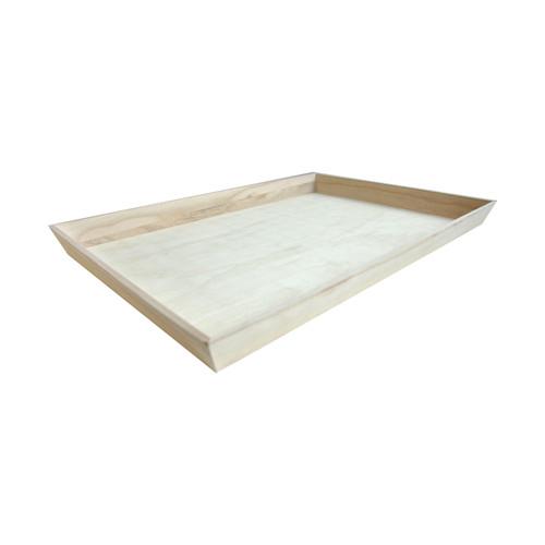 NOAH54 Heavy Duty Wooden Tray - L:21.9 x W:14.4 x H:1.55in