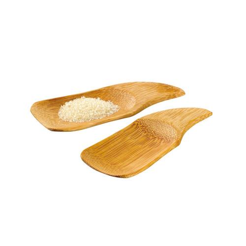 Phuket Bamboo Spoon - L:3.9 x W:1.5in