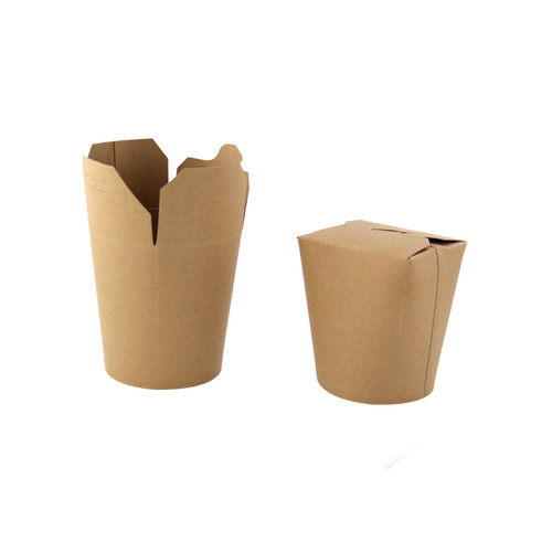 Kraft Take Out Container -16oz Dia:4in H:3.9in