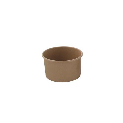 Brown Kraft Hot & Cold Paper Cup -5oz Dia:3.1in H:1.68in