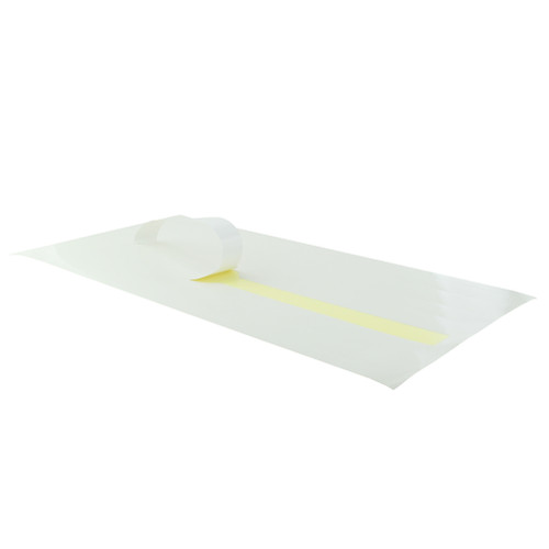 White Self-Adhering Paper Wrapper - L:16.1 x W:7.05in