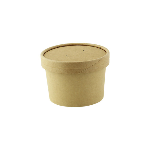 Vented Paper Lid for 210SOUP8 & 210SOUPK8K - Dia:3.82in