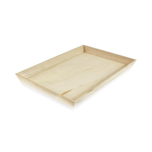 NOAH39 Heavy Duty Wooden Tray - L:17.1 x W:13.15 x H:1.55in