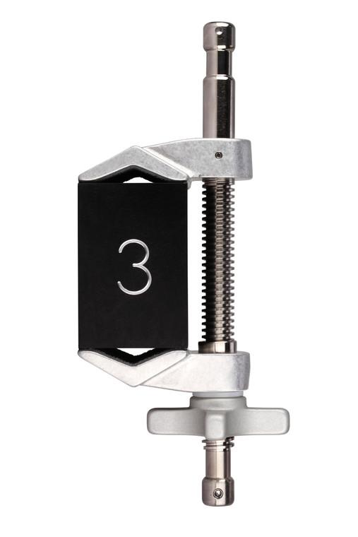 "3"" XL Double Spud Cardellini Clamp® (3D)"