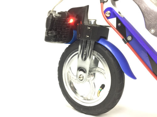 Custom Fork Mount: Hudora Big Wheel Air