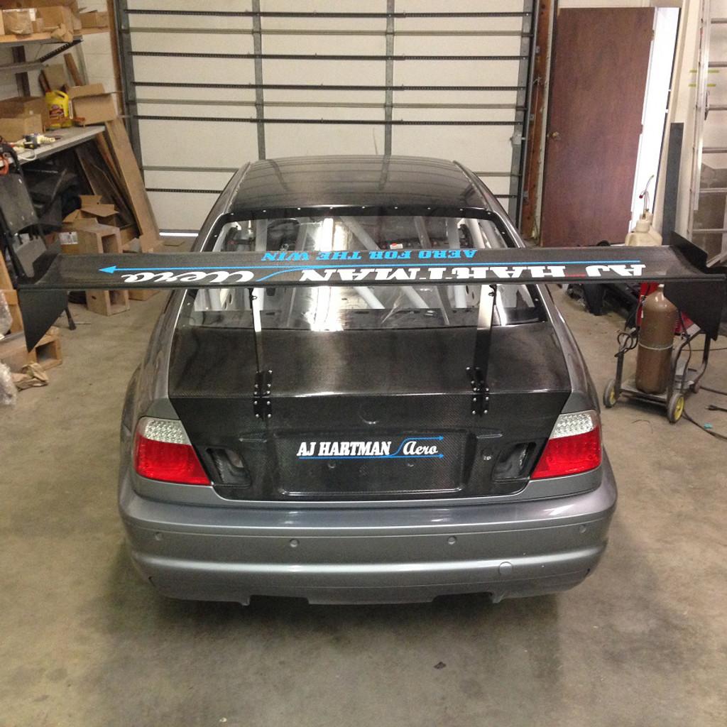 "BMW E46 Racing Wing, 14"" Chord"