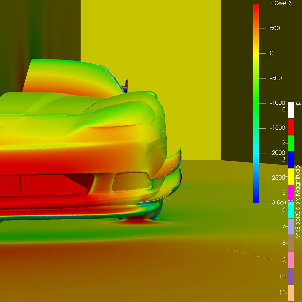 Corvette C6 Canards/Dive Planes for your Race Car | RHR Performance