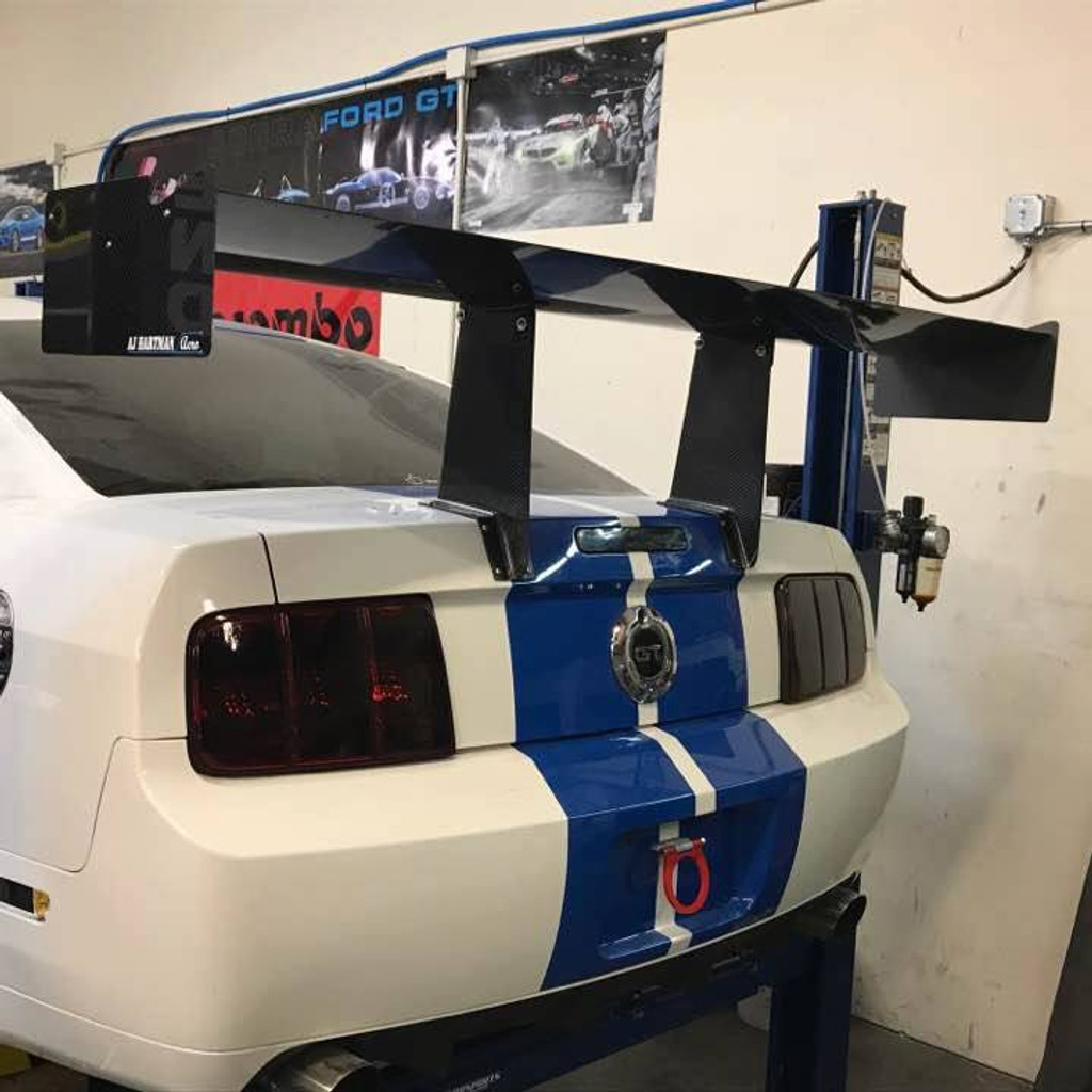 "Mustang S197 Racing Wing, 14"" Chord"