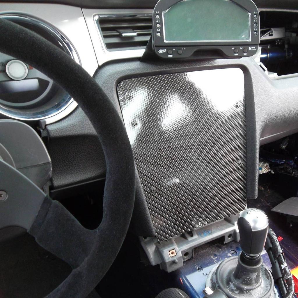 Mustang S197 Carbon Dash Panel Filler