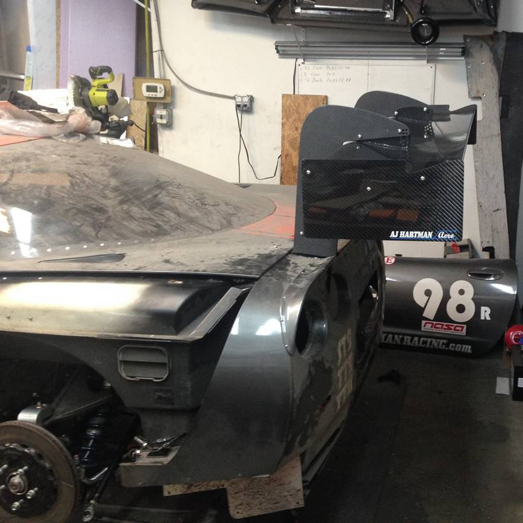"""Corvette C5 Racing Wing, 14"""" Chord"""
