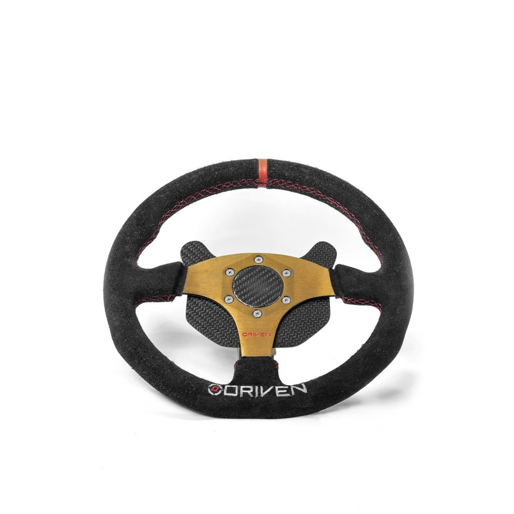 Steering Wheel w/ Carbon Cap and 6 Button Switch Plate