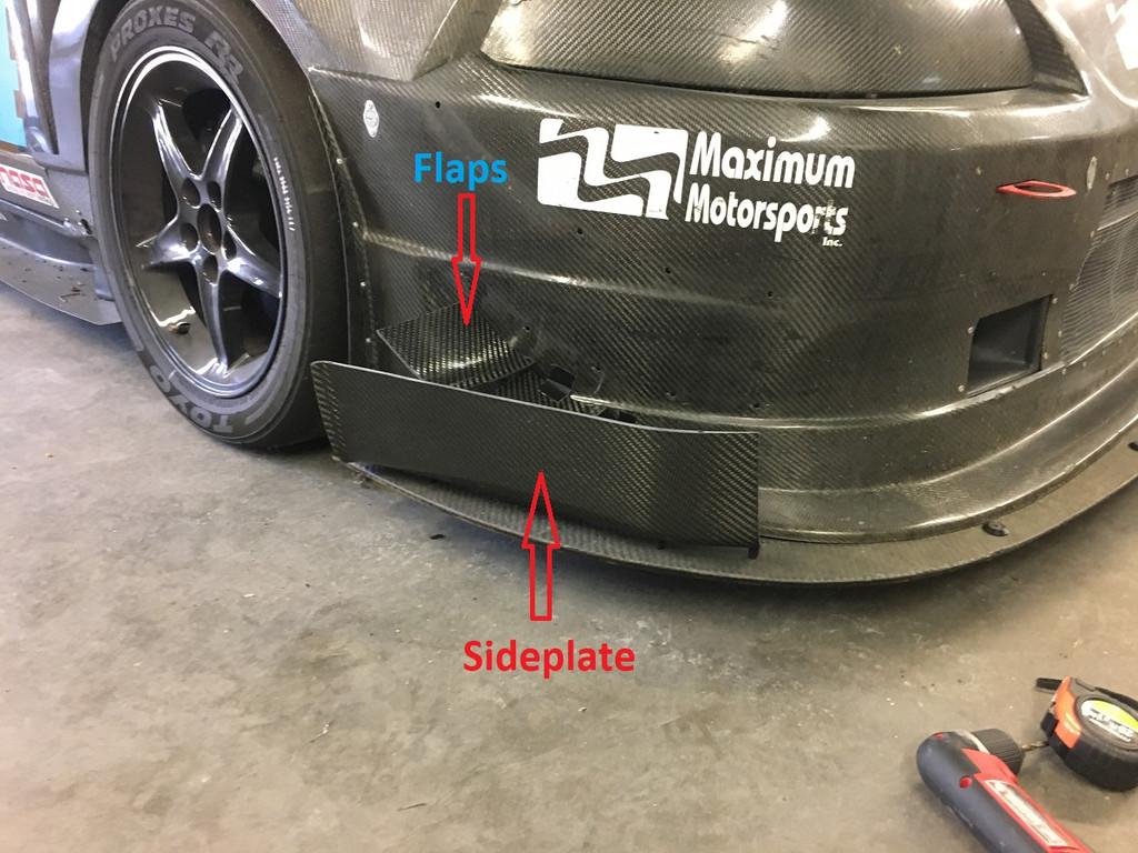 Splitter Flaps