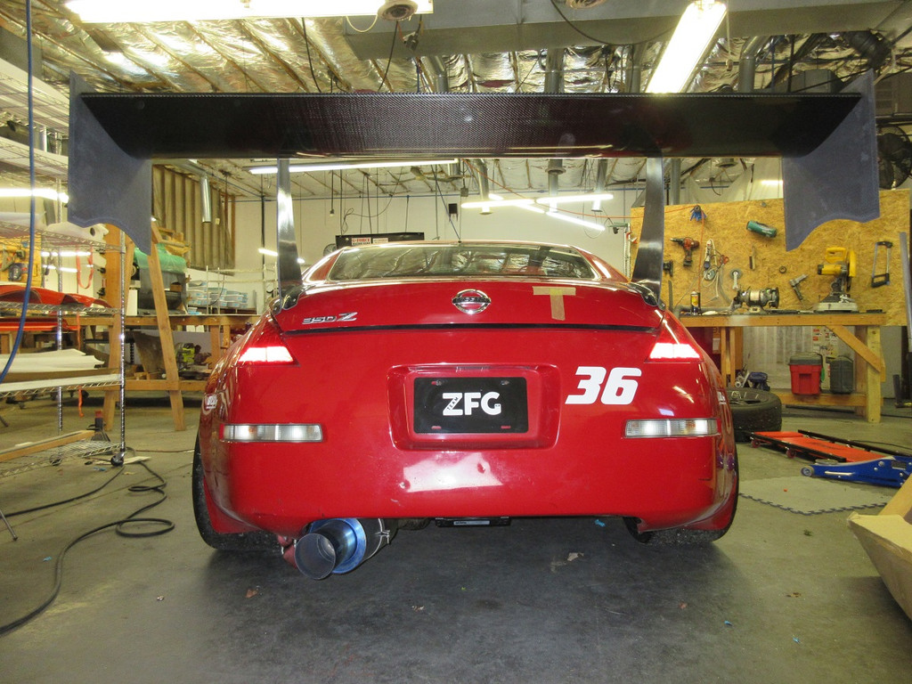 350Z Fulcrum Wing Kit