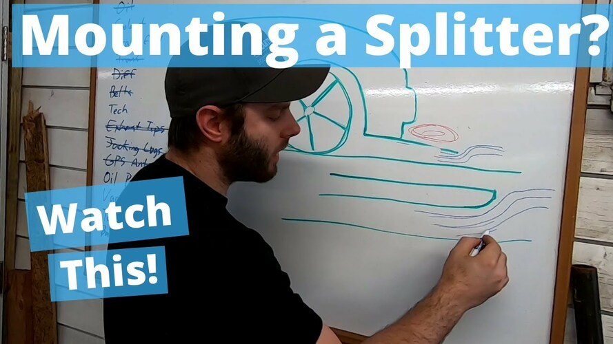 Mounting a Splitter? We did a video to help you out.