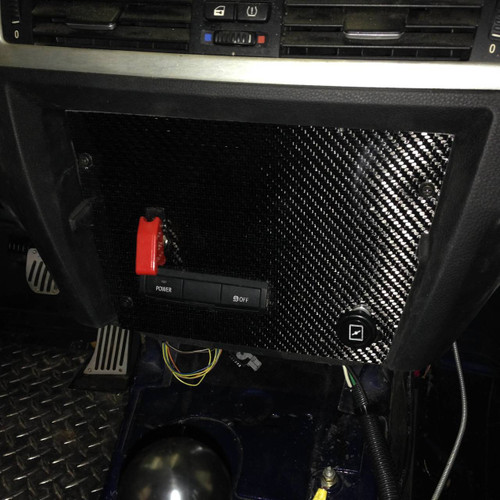 BMW E92 Carbon Dash Panel Filler