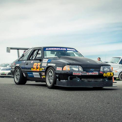 "Mustang Foxbody Racing Wing, 14"" Chord"