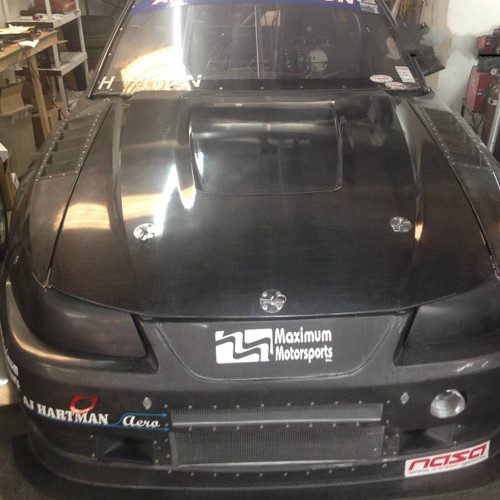 Mustang SN95 Carbon Fiber Hood Replacement