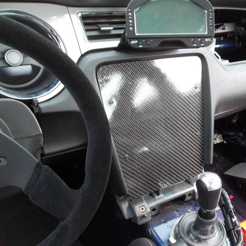 Mustang S197 Carbon Dash Panel Filler