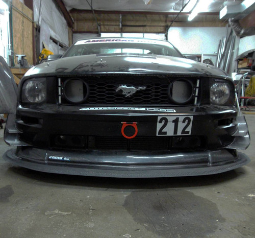 Mustang S197 Splitter for your Race Car, American Iron Legal | RHR Performance