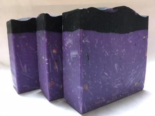 Black Raspberry Vanilla Cream Silk Soap, Cold Process Soap, Goats Milk Soap