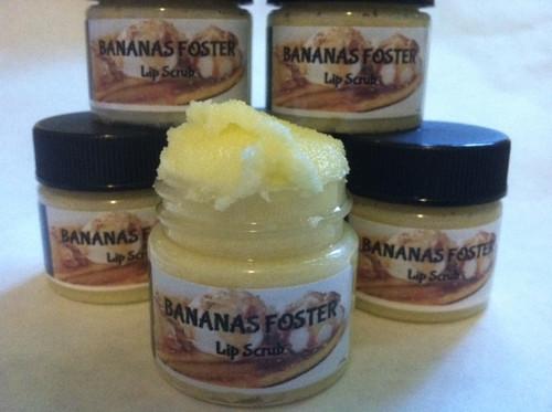Bananas Foster Lip Scrub