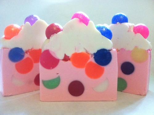 Bubble Luscious Cream Silk Soap