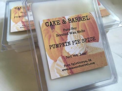 Pumpkin Pie Spice Wax Melts