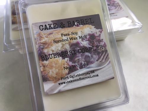 Blueberry Cobbler Wax Melts